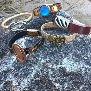 Jewelry - Bracelets with fun focals.